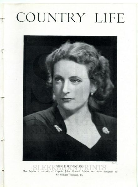 1944 COUNTRY LIFE Magazine CHARTERS SUNNINGDALE Margaret Younger Moller BERMONDSEY REPLANNING (8942)